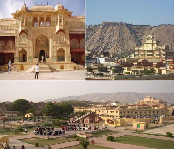 City Palace, Amber Fort and Jantar Mantar Jaipur