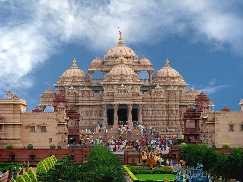 Akshardham Mandir Delhi Attractions