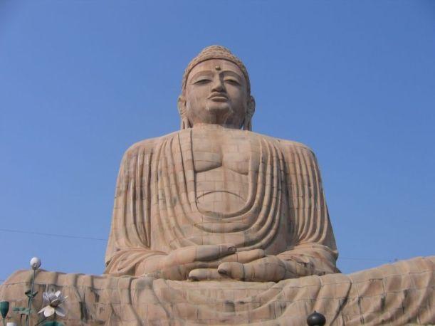 Buddha Statue Bodh Gaya Bihar