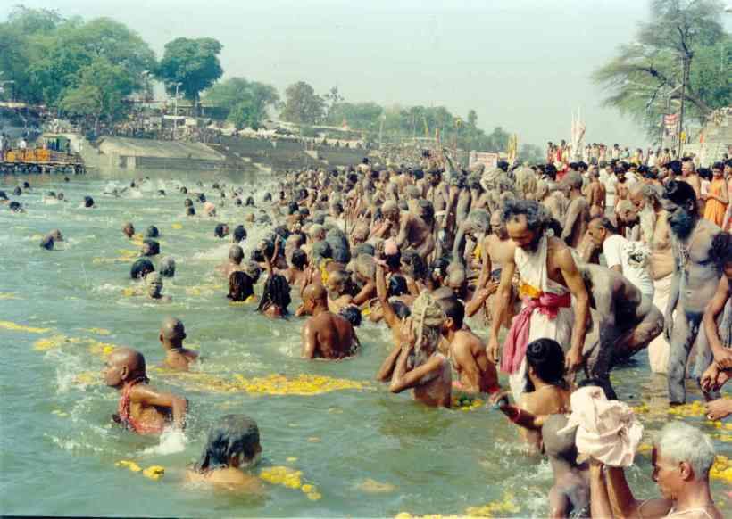 Allahabad Kumbh Mela View