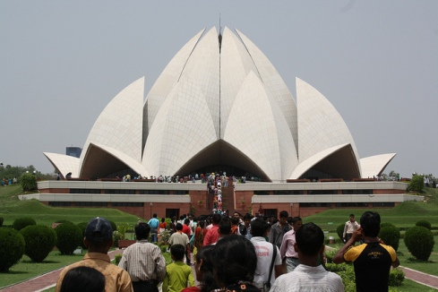 Lotus Temple Delhi Attractions
