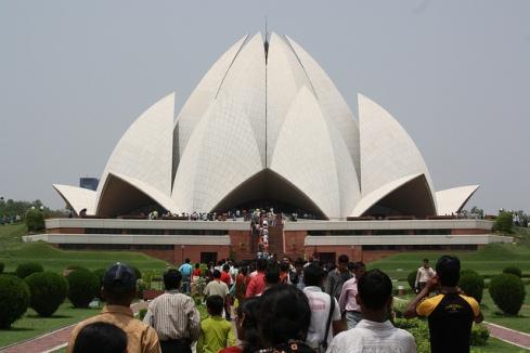 Lotus Temple Delhi Attractions