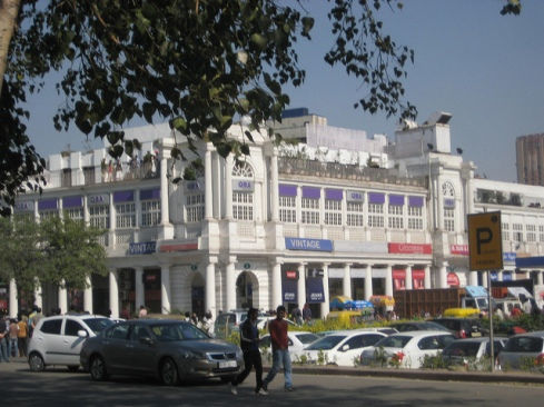 Shopping in Connaught Place Delhi