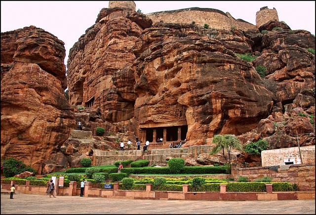 Badami Cave Karnataka