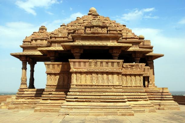 Saas Bahu Temple Gwalior
