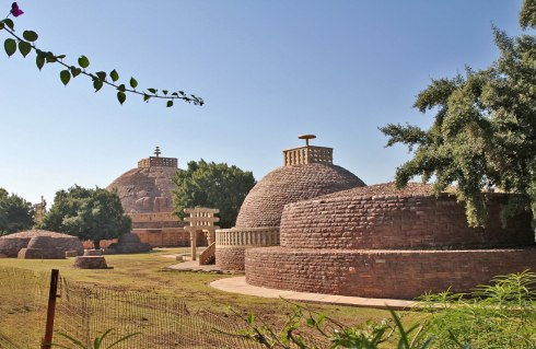 Snachi Stupa Built By Ashoka