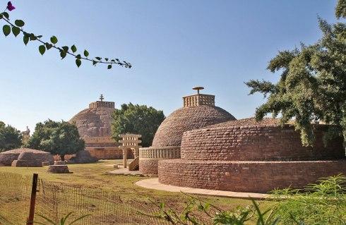 Snachi Stupa Built By Ashoka