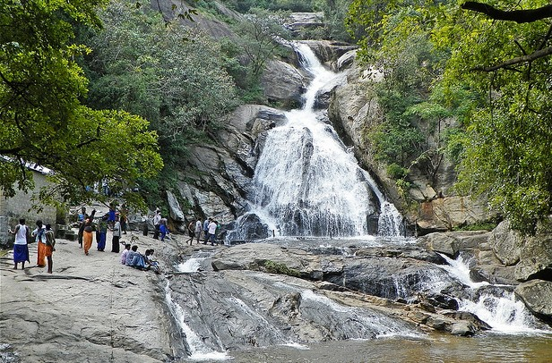 Monkey Falls Coimbatore Tamil Nadu