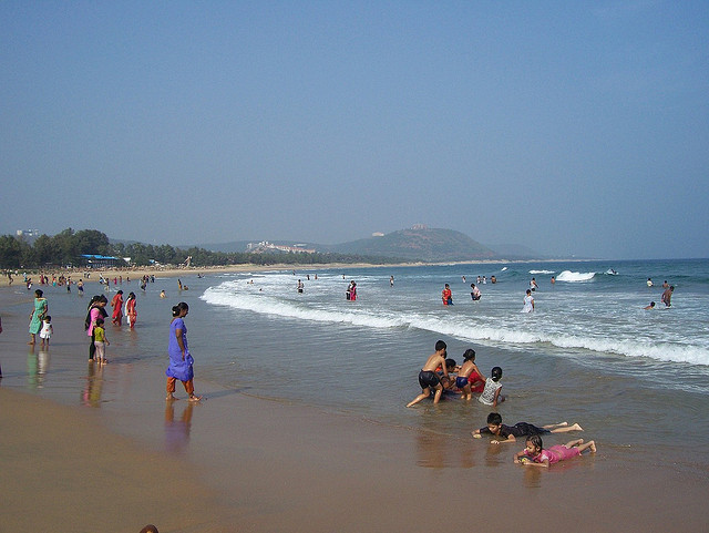 Rushikonda Beach Visakhapatnam
