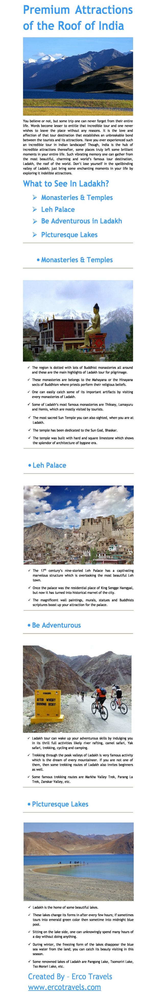 Ladakh Attractions Roof of India