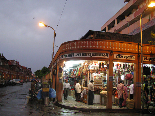 Shopping in Bapu Bazaar