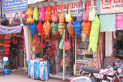 Shopping in Tripolia Bazaar