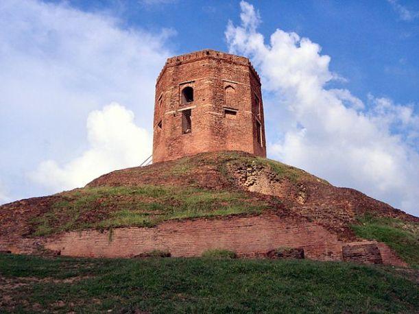 Chaukhandi_Stupa-Sarnath
