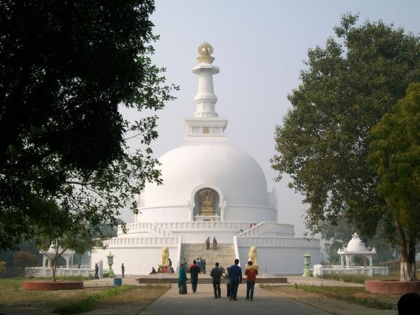 Vishwa Shanti Stupa (Peace Pagoda)