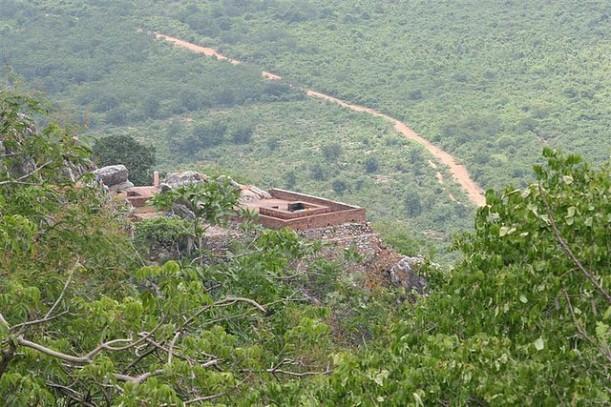 Vulture's peak mountain, Rajgir