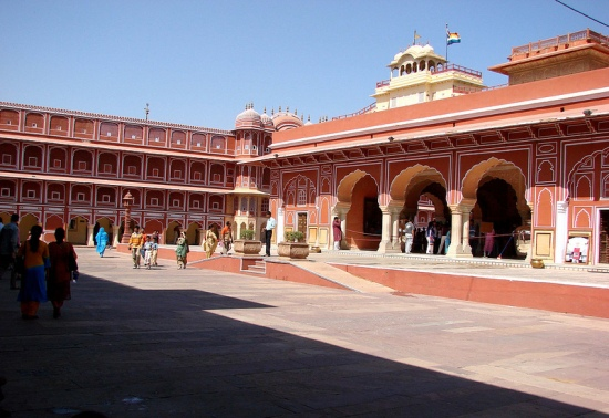 City palace, jaipur, image by Biswarup Sarkar
