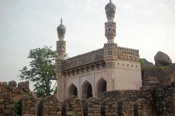 Minars Of Tomb