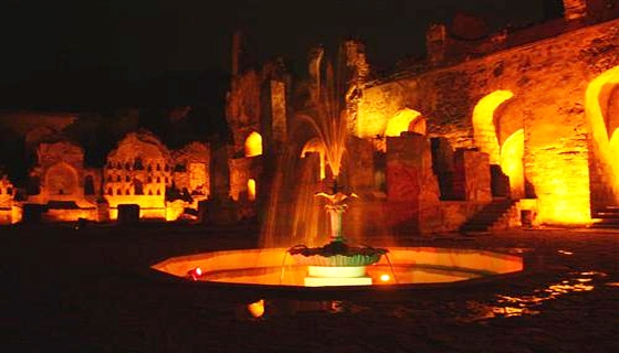 Light Show in Golconda Fort