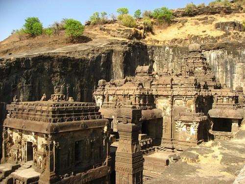 Kailasha temple in ajanta ellora