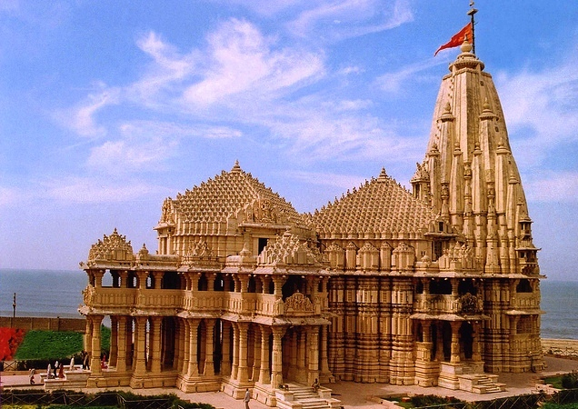 Somnath India  city images : SOMNATH Sun Temple: The Legendary Indian Shrine | Travel Services ...