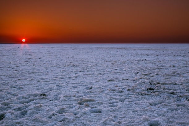 sunset at Rann of Kutch Gujarat