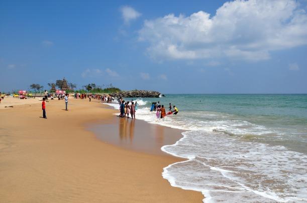 Mahabalipuram Beach, Tamil Nadu