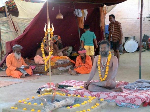 Yogi-Babas-during-Ujjain-Kumbh-Mela