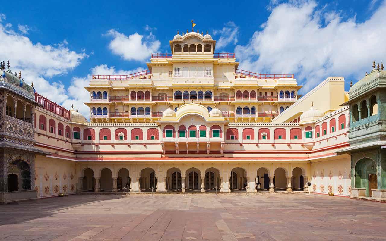 city palace jaipur, rajasthan